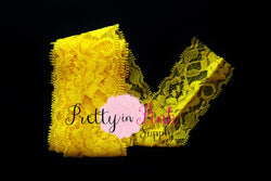 Yellow Lace Elastic 2