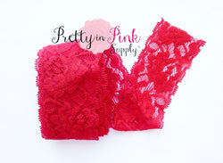 Red Lace Elastic 2