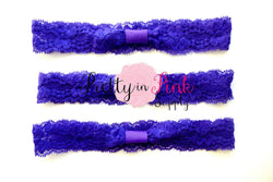Purple Lace Headbands - Pretty in Pink Supply