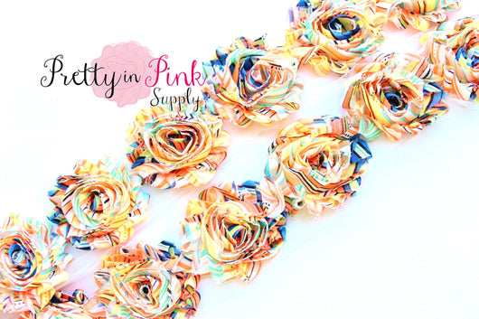 Tropical Sunrise Shabby Rose Trim - Pretty in Pink Supply