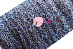 Navy Lace Elastic 1