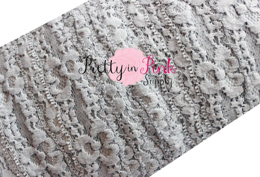 Grey Lace Elastic 1