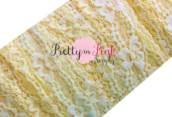 Pale Yellow Lace Elastic 1