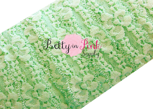 Mint Lace Elastic 1