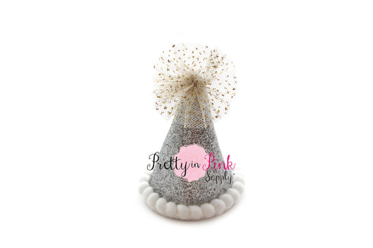 MINI Glitter Party Hat - Pretty in Pink Supply