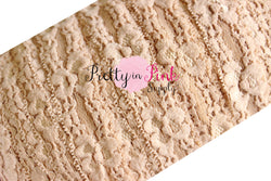 Toffee Lace Elastic 1