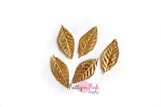Gold Metallic Leaf- Foil Paper - Pretty in Pink Supply