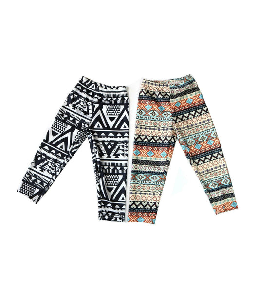 Aztec Leggings - Pretty in Pink Supply