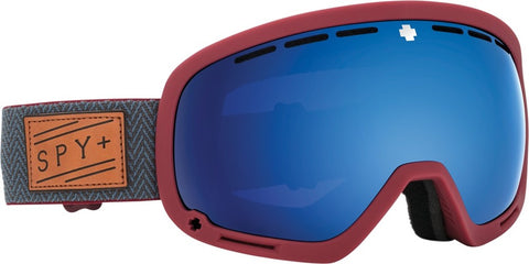 SPY Snow Goggle Marshall 18 - Herringbone Red