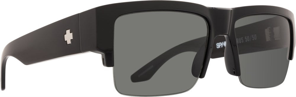 SPY Sunglass Cyrus 5050 - Black HD Plus Grey Green