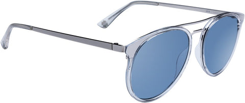 SPY Refresh Sunglass Toddy - Cyrstal Silver - Light Blue