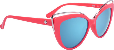 SPY Refresh Julep - Coral - Grey w/ Light Blue Flash Mirror