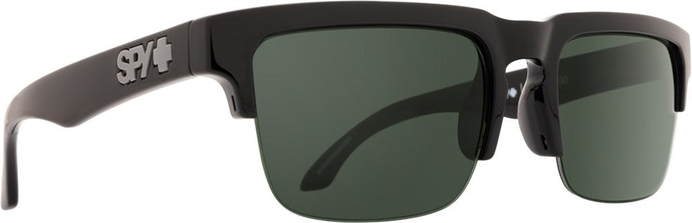 SPY Sunglass Helm 5050 - Black HD Plus Grey Green