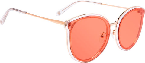 SPY Refresh Sunglass Colada - Crystal - Tangerine