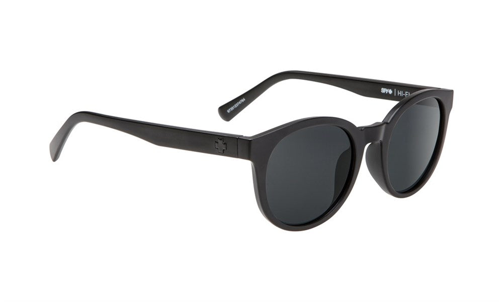 SPY Refresh Sunglass HiFi - Matte Black Grey