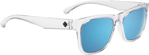 SPY Refresh Sunglass Sundowner - Crystal - Grey W/ Dark Blue Spectra