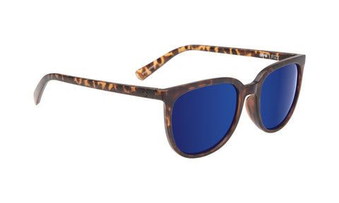 SPY Refresh Sunglass Fizz - Matte Blonde Tort - Grey W/ Dark Blue Spectra