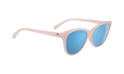 SPY Refresh Sunglass Spritzer - Translucent Blush Grey W/Light Blue Spectra