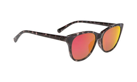 SPY Refresh Sunglass Spritzer - Black Tort Grey W/ Pink Spectra