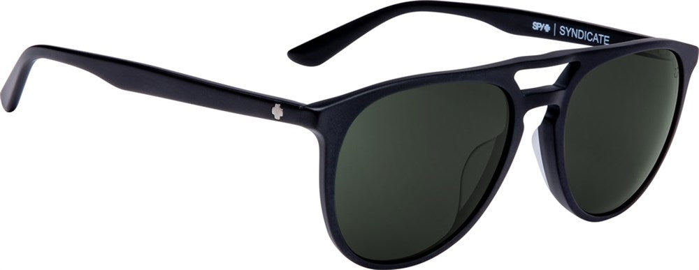 SPY Sunglass Czar - Soft Matte Black