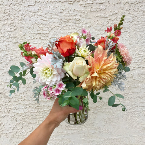 Seasonal Hand-tied or Arrangement