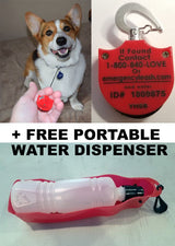 Emergency Leash + Free Water Dispenser - Emergency Leash