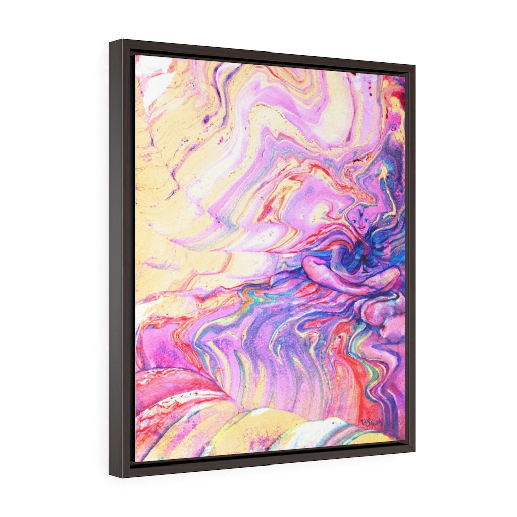 Our Pure Pleasure Portal - Framed Canvas Wrap