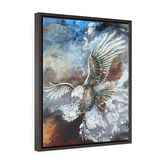 Messenger - Framed Canvas Wrap