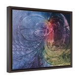 """Shaman IV - The Parting of the Way/Making Waves"" Framed Canvas"