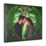 Wedding - Horizontal Framed Premium Gallery Wrap Canvas