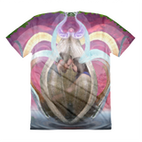 Ryan andLeahsWEDDING Sublimation women's crew neck t-shirt 2nd