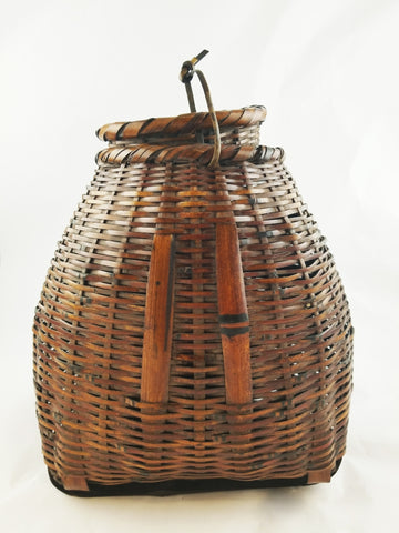 BAMBOO STRING BASKET