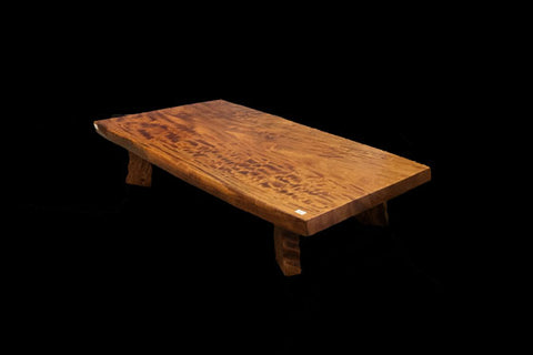 Zeklova low burl table
