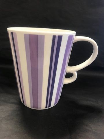 Coffee Cup - Lilac Stripes - TLS Living