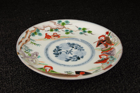 ANTIQUE IMARI PAINTED PLATE | TLS Living
