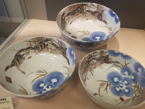 IMARI PAINTED BOWL SET - TLS Living