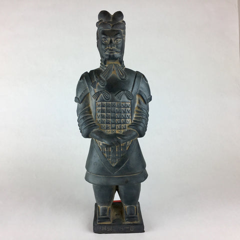 MINIATURE TERRACOTTA WARRIOR - GENERAL - TLS Living