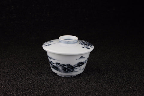 IMARI TEACUP WITH LID 12-PIECE