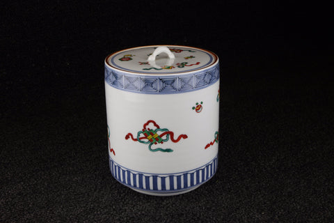 PITCHER PAINTED WITH FULL OF TREASURE PATTERN