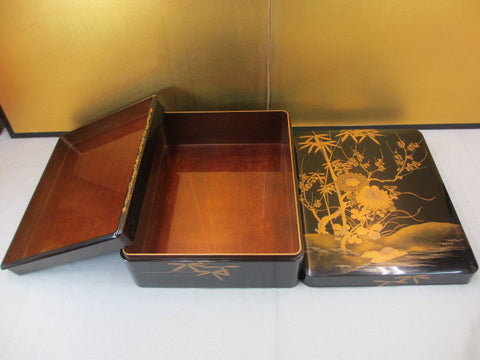 GOLD LACQUER LETTER BOX - TLS Living