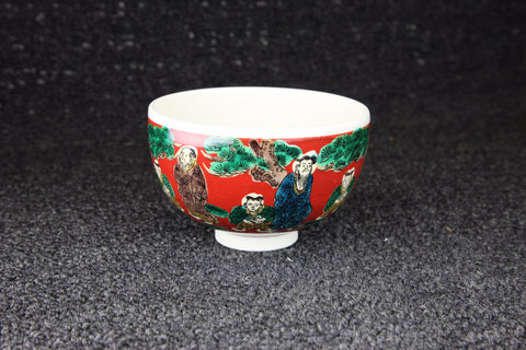 KUTANI STYLE SAGE PATTERN PAINTED TEACUP - TLS Living