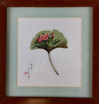 LEAF PAINTING FRAMED - TLS Living
