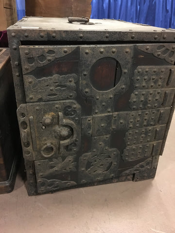 LATE 1800 JAPANESE SAFE - TLS Living