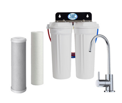 Twin Under Sink Filtration - Sediment & Carbon Filters