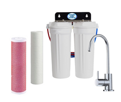 Twin Under Sink Filtration - Sediment & Aragon Filters