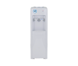 White Cold & Ambient Floor Standing Water Dispenser