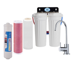 Triple Under Sink Filtration - Aragon, Fluoride & Alkahydrate Filters