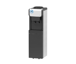 Eclipse Black & Silver Cold & Ambient Floor Standing Water Dispenser