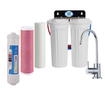 Triple Under Sink Filtration - Sediment, Aragon & Alkahydrate Filters