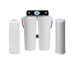 Twin Under Sink Filtration - Carbon & Fluoride Filters